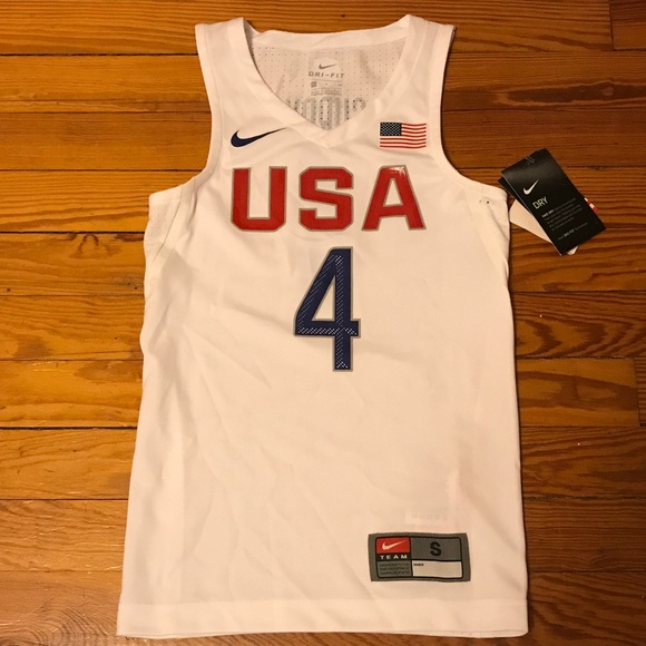 new style 35bb0 a841c Nike dri-fit USA Steph Curry Jersey Kids Small NWT NWT